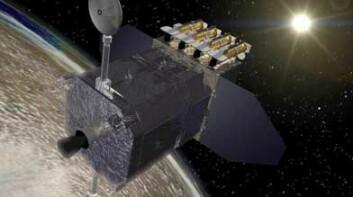 SDO blir en helt unik satellitt. (Illustrasjon: NASA)