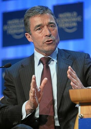 Anders Fogh Rasmussen, tidligere statsminister i Danmark, någeneralsekretær for NATO,fotografert i 2008 under World Economic Forum i Davos i Sveits. (Foto: World Economic Forum / Wikimedia Commons, se lisens her)