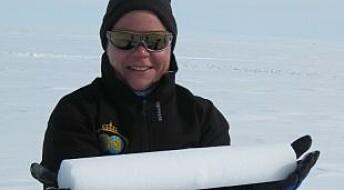 Mindre snø i Øst-Antarktis