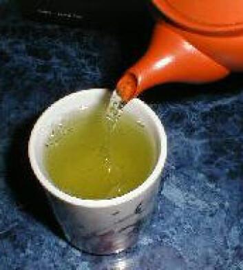 """""""I Japan og Kina drikkes mest grønn te."""""""