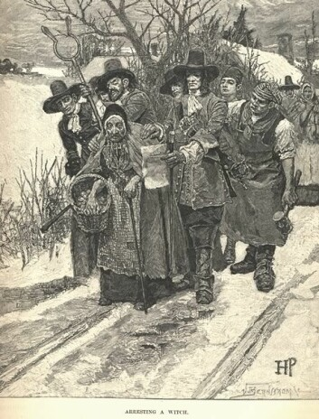 """""""Hekseri og trolldom ble på 1500 og 1600-tallet sett på de mest alvorlige forbrytelsene. (Illustrasjon: Wikimedia Commons)"""""""