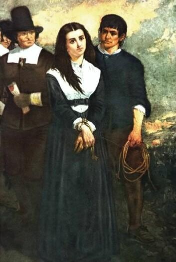 """""""Mange historikere beskriver 1500 og 1600-tallet som lavpunktet i kvinnenes historie, og bare 20 prosent av de dømte trollfolkene i Europa var menn. (Illustrasjon: Wikimedia Commons/Thomas Slatterwhite Noble)"""""""