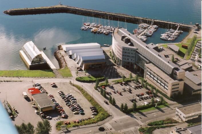 En betydelig utbygging av Polarmiljøsenteret, både i antall ansatte og byggareal, skal være med åsette Tromsø tydeligere på verdenskartet innenpolarmiljøforskning. Også Polaria skal bygges ut. (Foto: Polarmiljøsenteret)