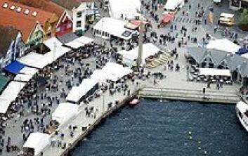 Gladmatfestivalen i Stavanger er spesielt krevende sikkerhetsmessig, mener professor Reidar Mykletun ved Universitetet i Stavanger. Foto: Thone Eldøy/Gladmat