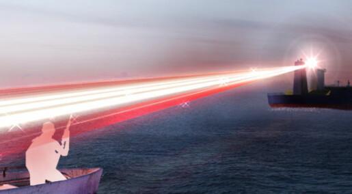 Laserkanon mot pirater
