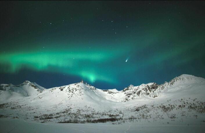 """Nordlys ved Tromsø."""