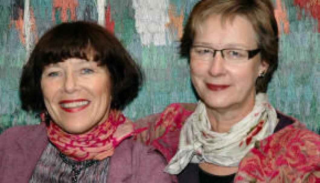 """""""Astrid Bergland og Kirsten Ekerholt ved Høgskolen i Oslo skriver om pasienters erfaringer med massasje. (Foto: Kari Aamli)"""""""