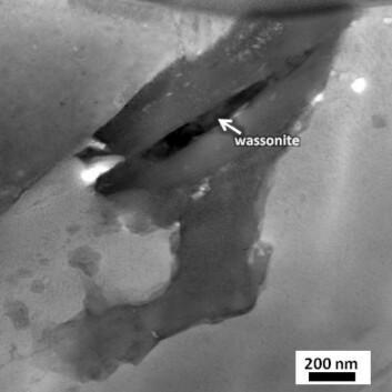 """""""Bilde av det knøttlille wassonitt-kornet. (Foto: NASA)"""",big=original"""