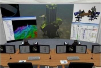 Slik ser Seabed Rig for seg kontrollrommet som skal styre plattformen på havbunnen.