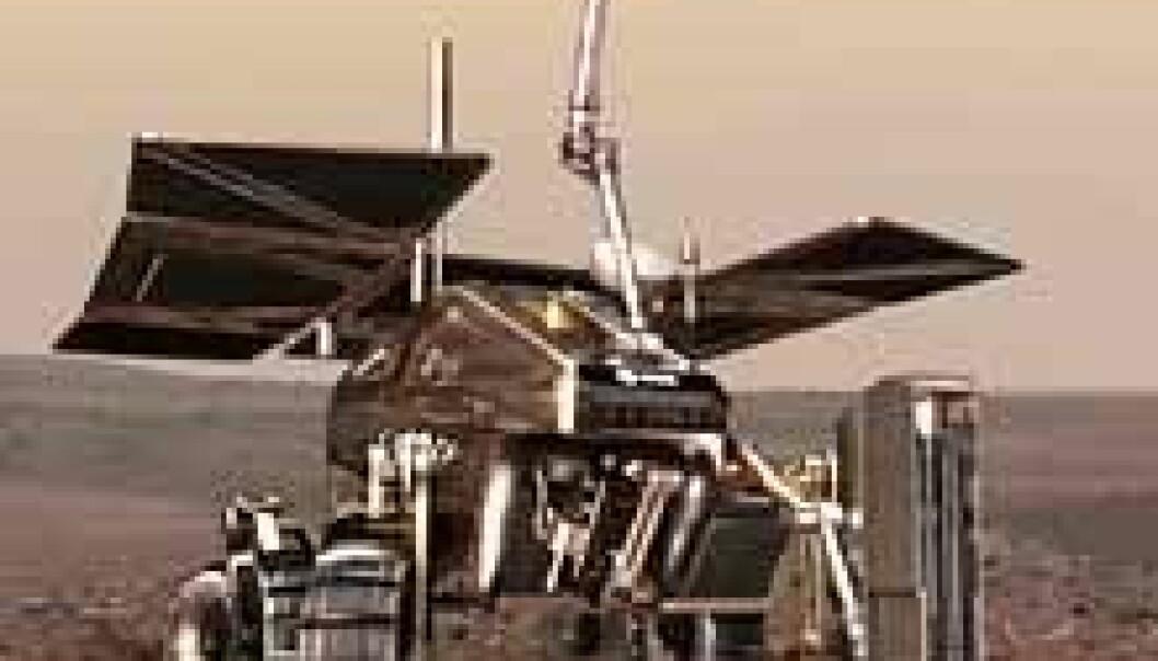 Minilab skal jakte på Marsliv