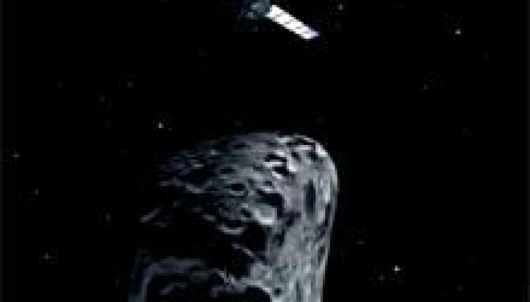 Kometjeger våkner fra dvale