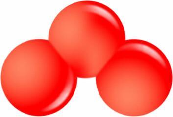 """""""Uten ozonmolekylet ville de færreste livsformer ha eksistert. Ozon filtrerer farlige UV-stråler, som ellers ville ha skadet livet på jorden. (Illustrasjon: Wikipedia)"""""""
