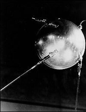 """""""Sputnik vekket amerikansk vitenskap - og amerikansk kreasjonisme."""""""