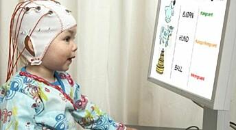 Avslører dysleksi hos babyer