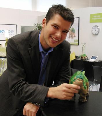 Martin Diruf med Pleo