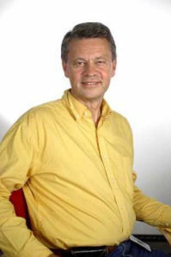 Professor Jan Magnus Bjordal kjenner ikkje til at fysioterapeutar har teke i bruk laserbehandling mot akillestendopati. (Foto: Mauricio Pavez, Høgskolen i Bergen)