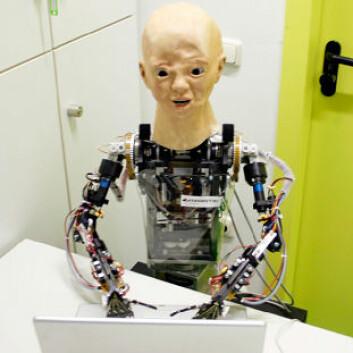 Anthropomorphic Robot, BARTHOC Jr. (Bielefeld Anthropomorphic RoboT for Human-Oriented Communication).