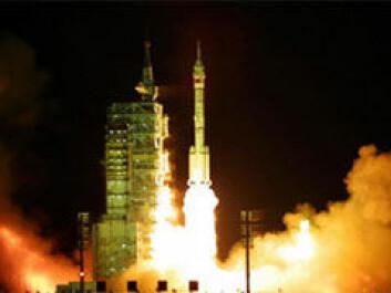 Oppskytingen av Shenzhou IV.