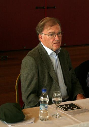 Sten Grillner, Karolinska Institutet. (Foto: Andreas R. Graven)