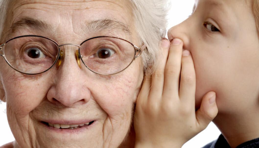 Visdom og ro med alderen
