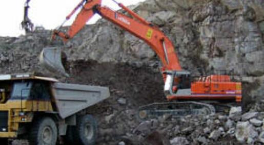 Bergindustrien omsatte for 10 mrd.
