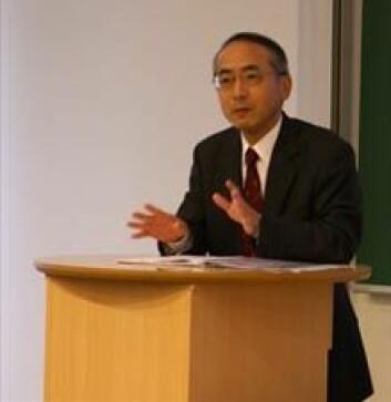 """""""Japans ambassadør i Norge, Hisao Yamaguchi."""""""