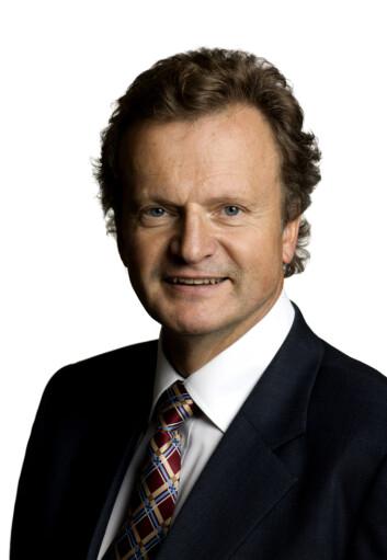Konsernsjef Jon Fredrik Baksaas i Telenor.