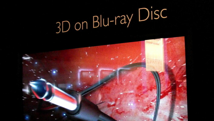 WOWvx-skjerm med 3D-bilder fra Philips