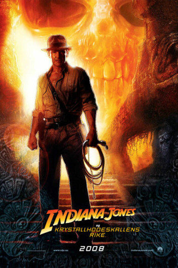 """Indiana Jones og krystallhodeskallens rike. (Foto: United International Pictures)"""