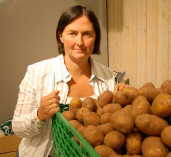 Forsker Margrete Haugum, Trøndelag forskning og utvikling AS, mener potetbransjen må lytte mer til forbrukerne.