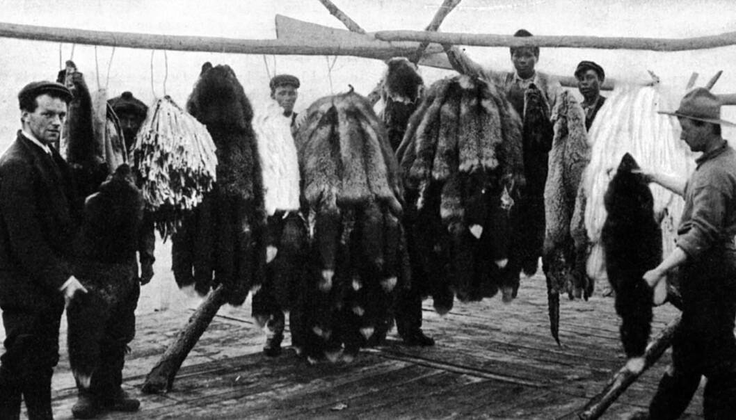 """""""Fangstmenn fra Hudson Bay, Canada."""""""