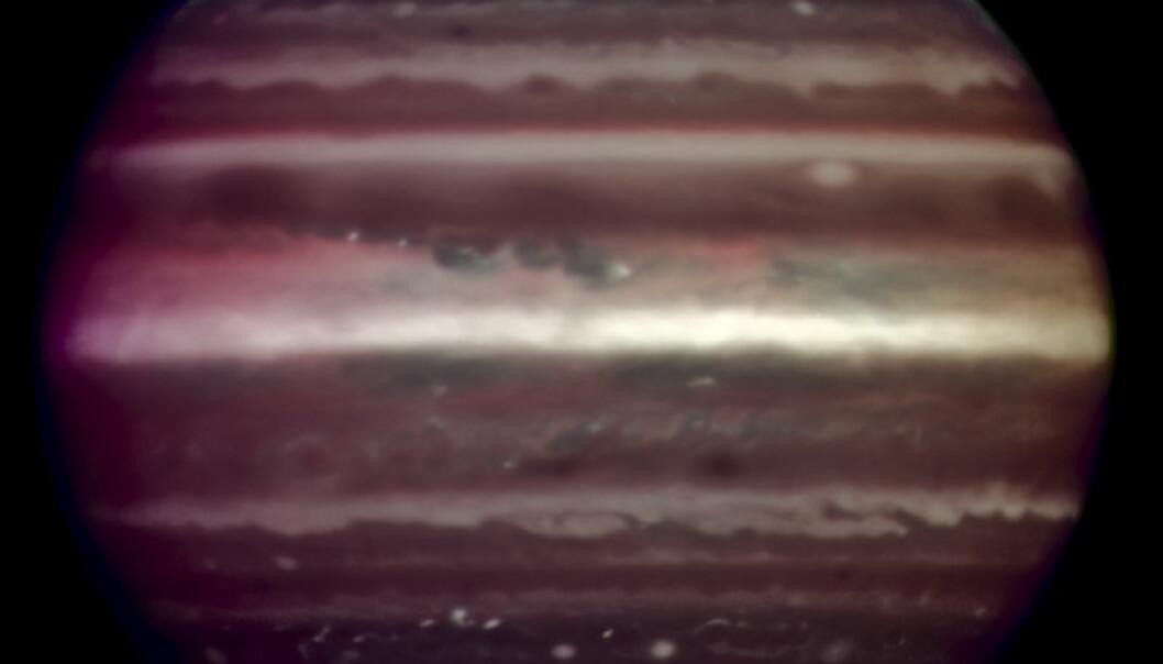 Rekordskarpt bilde av Jupiter