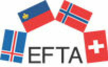 """""""Island, Liechtenstein, Sveits og Norge er med i EFTA."""""""