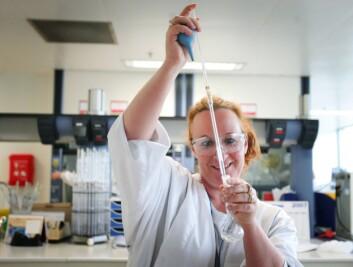 Fysikk er et fag der kvinner er sterkt underrepresentert. (Illustrasjonsfoto: www.colourbox.no)