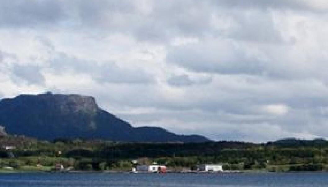 Nofimas forskningsstasjon på Averøy. (Foto: Martin Steinholt)