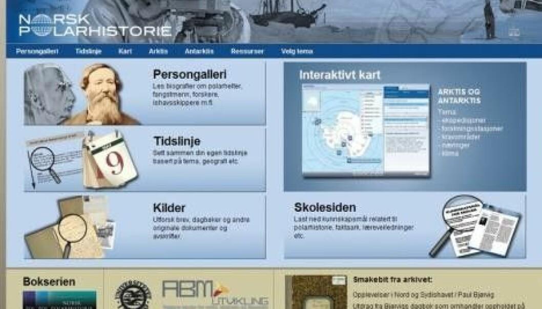Polarhistorie.no åpnet
