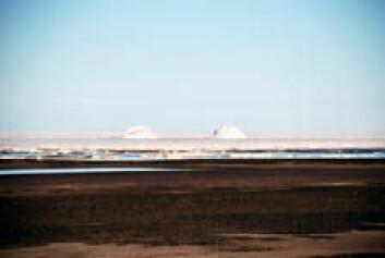 Det er ikke blitt dannet strandvoller etter at de første menneskene innvandret til Nord-Grønland for 4000-4500 år siden. I hele denne perioden har sjøisen dominert. (Foto: Eiliv Larsen/NGU)