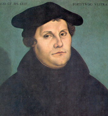Martin Luther. Bilde: Wikimedia Commons