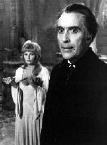 """""""Bram Stoker skapte Dracula - her i Christopher Lees skikkelse. Men Dracula han var ikke den første moderne vampyr."""""""