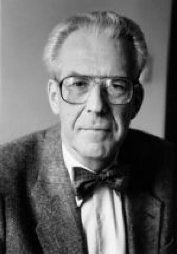 Maarten Schmidt, professor mmeritus, Astronomi, California Institute of Technology, USA (Foto: California Institute of Technology)