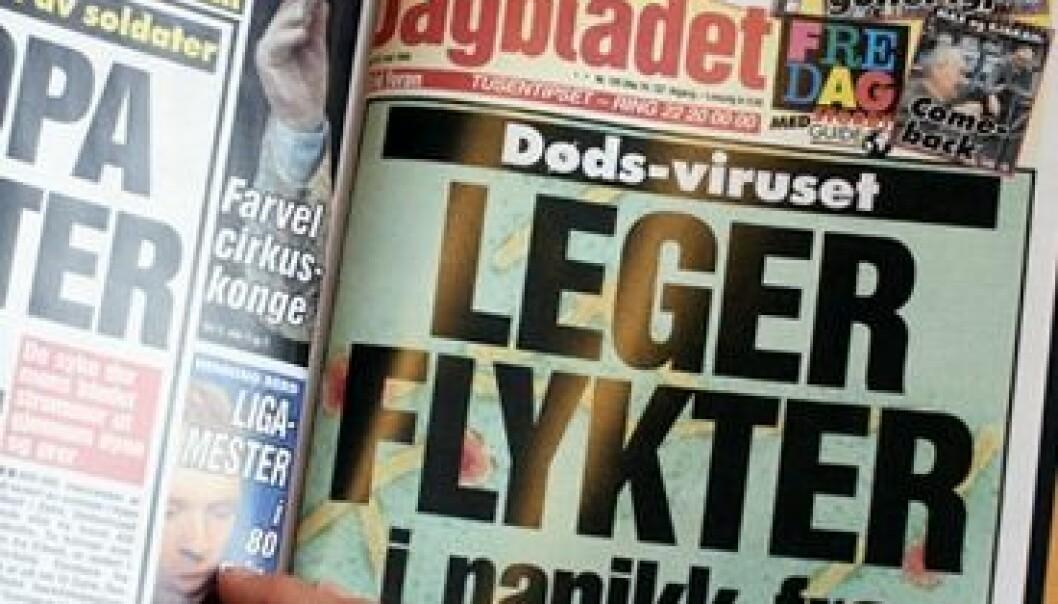 Samidig som Dagblad-språket over tid er blitt mer nøkternt, spiller forsiden desto mer på følelser, viser en ny doktoravhandling fra Universitetet i Oslo. (Foto: Annica Thomsson)