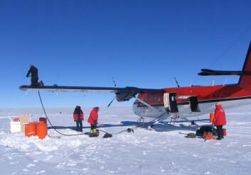"""""""Den internasjonale ekspedisjonen er den del av Det Internasjonale Polaråret 2007/2008. (Foto:British Antarctic Survey)"""""""