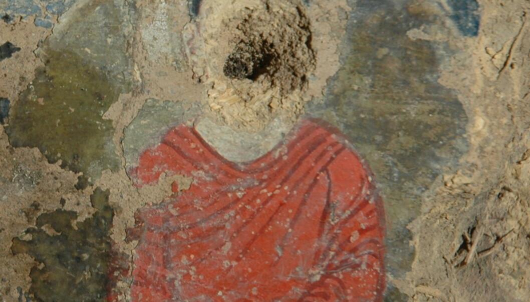 Fant oljemaleri fra 600-tallet