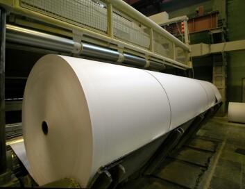 Både glyoksal og glutaraldehyd brukes i papirindustrien. (Illustrasjonsfoto: www.colourbox.no)
