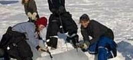 Stor isproduksjon i Storfjorden