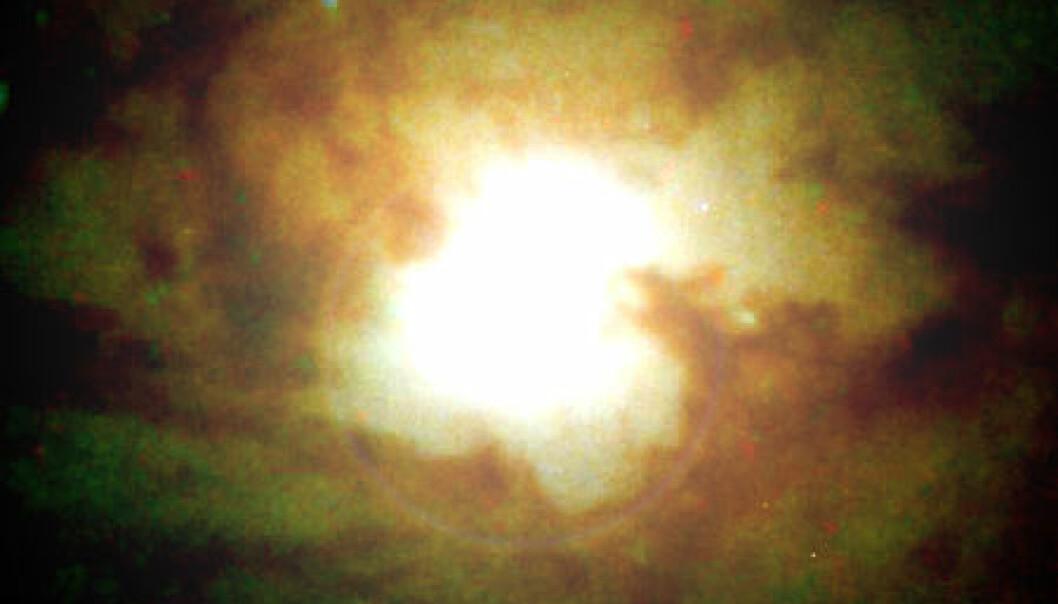 """""""Hvor i universet skjuler mørk materie seg?Forskere mener å ha kommet nærmere et svar."""""""