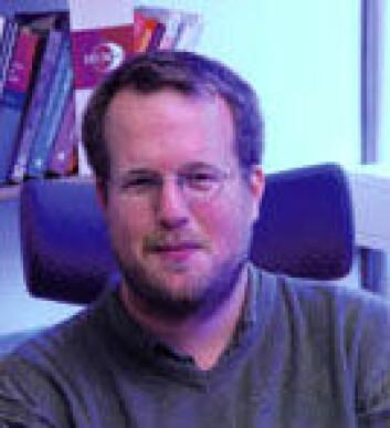 """""""Espen Aarseth ved UiB er ledende innenfor vitenskap om dataspill. (Foto: Patrik Svensson)"""""""