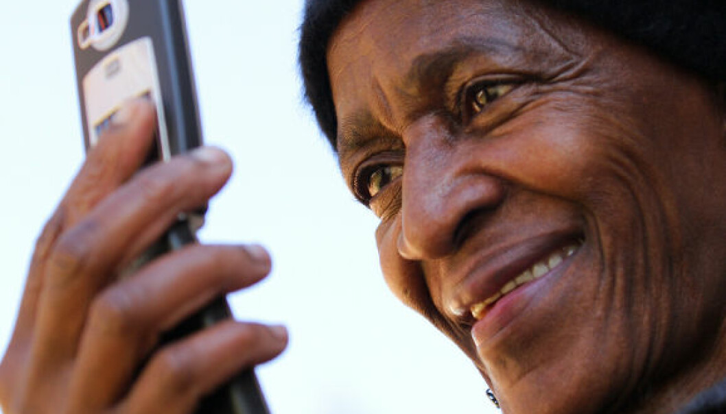 Vil bekjempe fattigdom med mobil