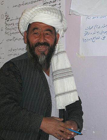 En landsby-leder på seminar. (Foto: Aslaug Gotehus)