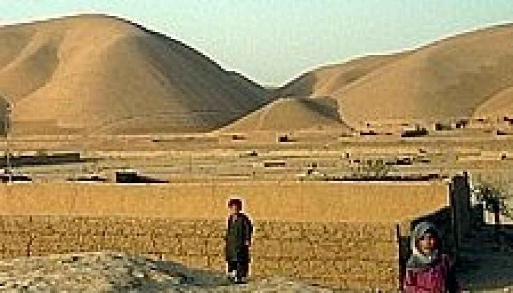 Fra Farjab-provinsen i Afghanistan. (Foto: Aslaug Gotehus)